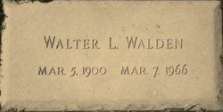 Walter Lewis Walden