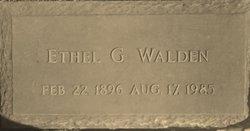 Ethel Guinn Walden