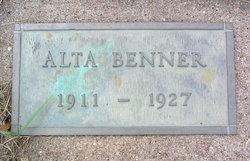 Alta Benner