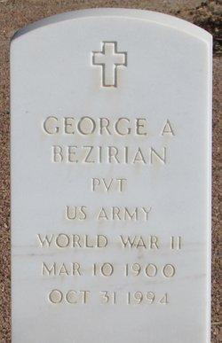 George A Bezirian