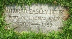 Mildred Julia <I>Easley</I> Beury