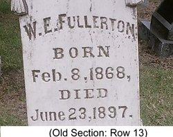 W E Fullerton