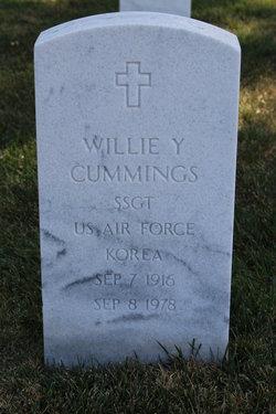 Willie Y Cummings
