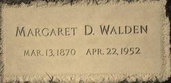"""Margaret Matilda """"Maggie"""" <I>DeBusk</I> Walden"""