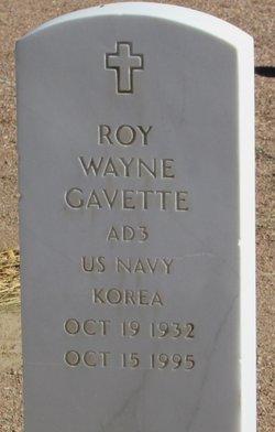 Roy Wayne Gavette
