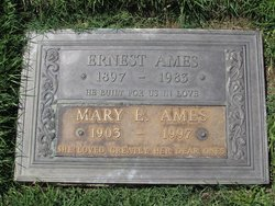 Mary Emeline <I>Hatch</I> Ames