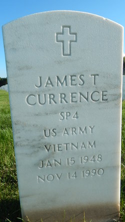 James T Currence
