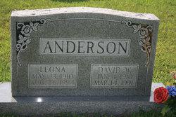 Leona <I>Cowan</I> Anderson