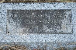 Georgia Ann Perry