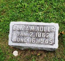 """Eliza Margaret """"Maggie"""" <I>Andis</I> Adler"""