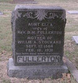 Ella <I>Mixon</I> Fullerton