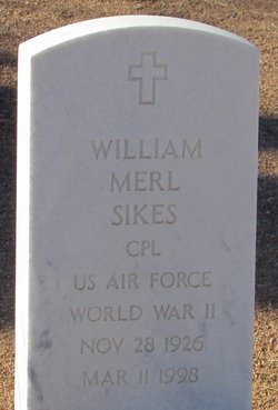 William Merl Sikes