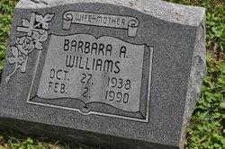 Barbara A Williams