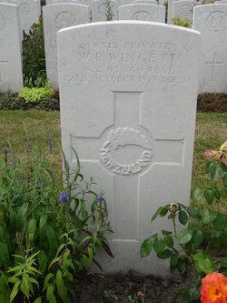 Private William Richard Wingett