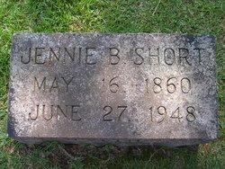 Jennie Beatrice <I>Wingfield</I> Short