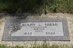 Mary L. <I>Riles</I> Niemi