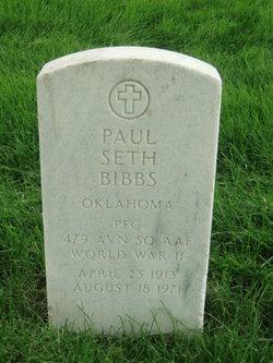Paul Seth Bibbs