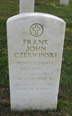 Frank John Czerwinski