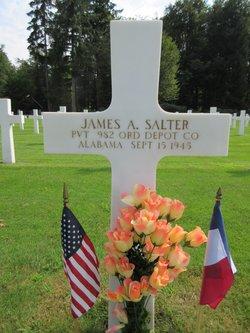 Pvt James A Salter