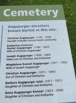 Christian Augspurger, Sr