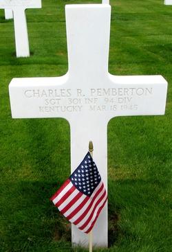Sgt Charles R Pemberton