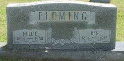 Nellie Mae <I>Blevins</I> Fleming