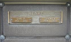 Lenore B Henry