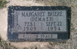 Margaret <I>Demaer</I> Briere