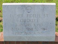 Fr Fidelis Becker