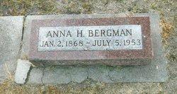 Anna Helena <I>Peterson</I> Bergman