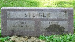 Matilda <I>Bettger</I> Steiger