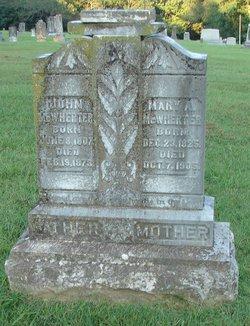 Mary Ann <I>Webb</I> McWherter