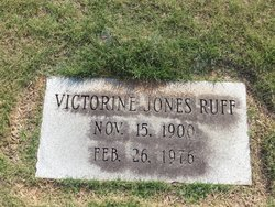 Victorine <I>Jones</I> Ruff