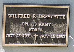 Wilfred R Defayette