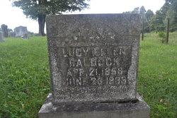 Lucy Ellen <I>Ford</I> Baldock