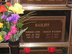 Norman Lynn Bailiff, Sr