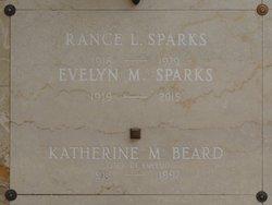 Rance L Sparks
