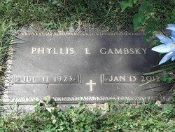 Phyllis Lorena <I>Huffman</I> Gambsky