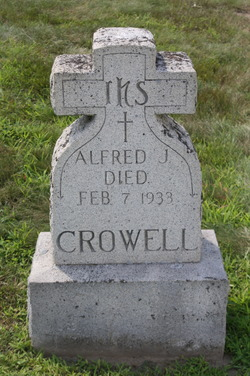 Alfred Joseph Crowell