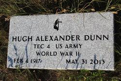 """Hugh Alexander """"H. A."""" Dunn"""