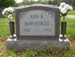 Ann Katherine Barhorst