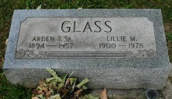 Lillie Mae <I>McCartney</I> Glass
