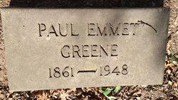 Paul Emmet Greene