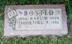 Ethel V Bosted