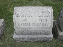 Alicia D McVay