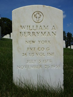 William A Berryman