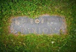 Bertha <I>Ellars</I> Banion