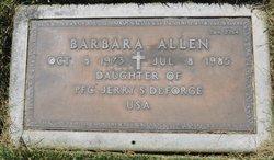 Barbara Allen Deforge