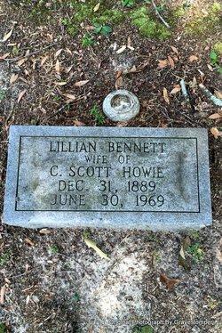 Lillian <I>Bennett</I> Howie