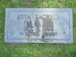 Etta <I>Bagwell</I> Fowler